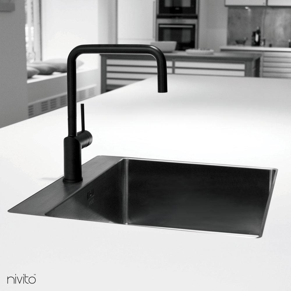 Black mixer tap single lever mono tap tap single lever mono