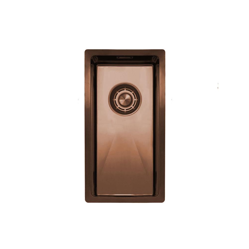 Copper Kitchen Basin - Nivito CU-180-BC