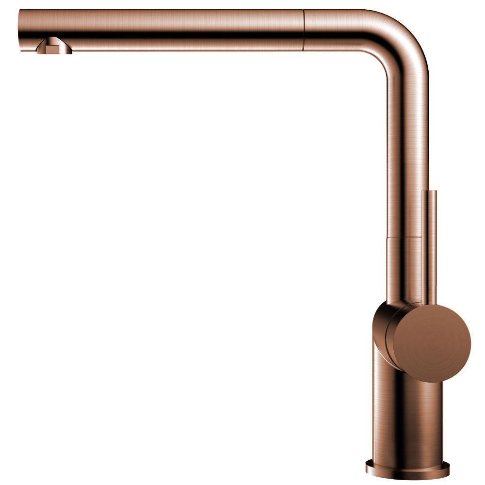 Copper Kitchen Tap Pullout hose - Nivito RH-650-EX