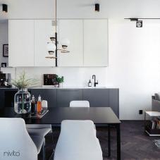 Black Kitchen Mixer Tap - Nivito 11-RH-320