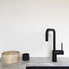 Black Kitchen Mixer Tap - Nivito 15-RH-320