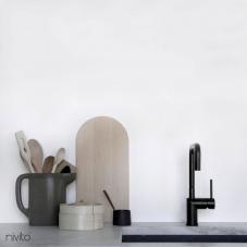 Black Kitchen Mixer Tap - Nivito 18-RH-320