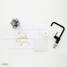 Black Kitchen Mixer Tap - Nivito 19-RH-320
