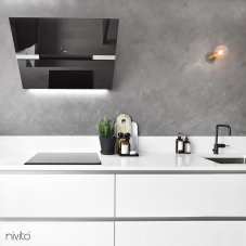 Black mixer tap single lever mono tap tap