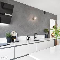 Black Kitchen Mixer Tap - Nivito 4-RH-320