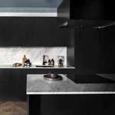 Black Kitchen Mixer Tap - Nivito 9-RH-320