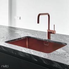 Copper Kitchen Mixer Tap - Nivito 1-RH-350