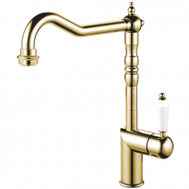 Brass/Gold Kitchen Tap - Nivito CL-160
