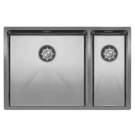 Stainless Steel Kitchen Basin - Nivito CU-500-180-B