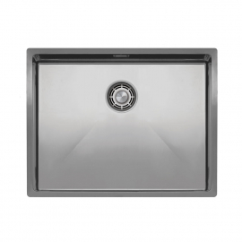 Stainless Steel Kitchen Basin - Nivito CU-550-B