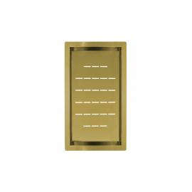Brass/gold Strainer Bowl - Nivito CU-WB-240-BB