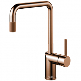 Copper Kitchen Mixer Tap - Nivito RH-350-IN